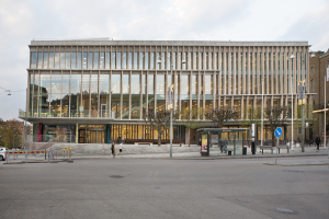 Stadsbiblioteket i Göteborg. Foto: Anja Sjögren