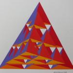 Brandbergen 18 x 21 cm akryl